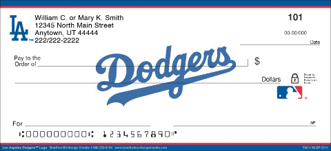 Los Angeles Dodgers™ MLB® Logo Personal Checks