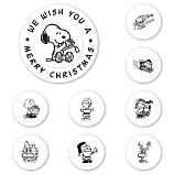 Peanuts Christmas Wishes Peel & Stick Interchangeable Stamp Set