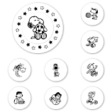 Peanuts Sports Stars Peel & Stick Interchangeable Stamp Set