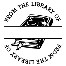 Book Fill-in Stamp