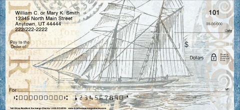 Tall Ships Personal Checks