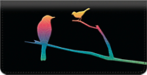 Bird Silhouettes Checkbook Cover
