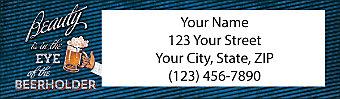 Beer Return Address Label