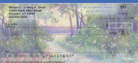 Life is a Journey Personal Checks
