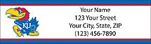 University of Kansas Return Address Label