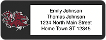 University of South Carolina Return Address Label