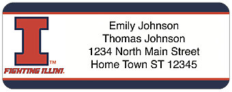 University of Illinois Return Address Label