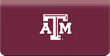 Texas A&M University Checkbook Cover