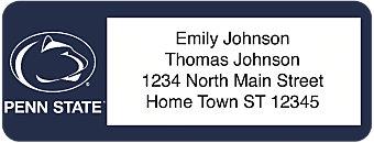 Pennsylvania State University Return Address Label