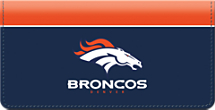 Denver Broncos NFL Checkbook Cover