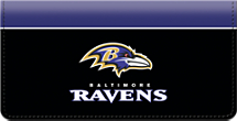 Baltimore Ravens NFL Checkbook Cover