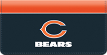Chicago Bears NFL Checkbook Cover