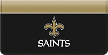 New Orleans Saints NFL Checkbook Cover