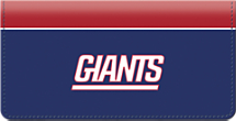 New York Giants NFL Checkbook Cover