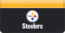 Pittsburgh Steelers NFL Checkbook Cover