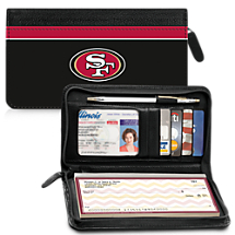 Leather San Francisco 49ers Zippered Wallet For Your Favorite NFL Team