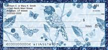 Indigo Garden Personal Checks