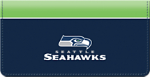 Seattle Seahawks NFL Checkbook Cover
