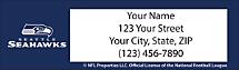 Seattle Seahawks NFL Return Address Label