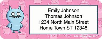 Ugly Dolls Return Address Labels