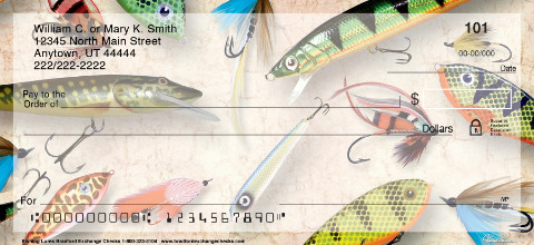 Fishing Lures Personal Checks