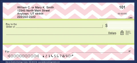Chevron Personal Checks