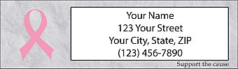 Support the Cause Return Address Label