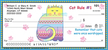 Cat Wisdom Personal Checks