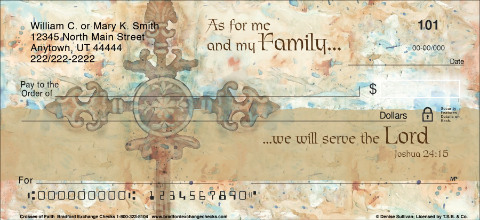 Crosses of Faith Personal Checks