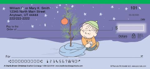 A Charlie Brown Christmas Personal Checks