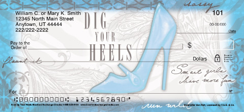 Kick Up Your Heels Personal Checks