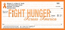 Fight Hunger Personal Checks