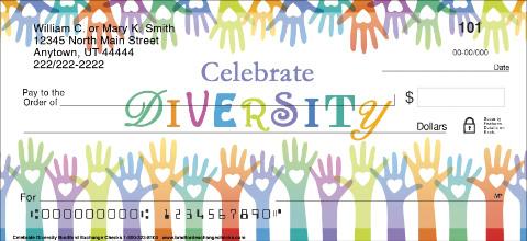 Celebrate Diversity Personal Checks