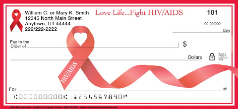 HIV Aids Awareness Personal Checks
