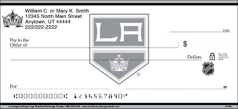 Los Angeles Kings Logo Personal Checks