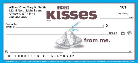 Hershey's Kisses Personal Checks