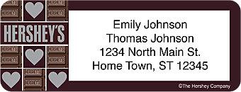 Hershey's Return Address Label