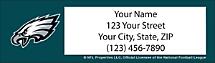 Philadelphia Eagles NFL Return Address Label
