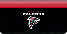 Atlanta Falcons NFL Checkbook Cover