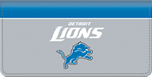 Detroit Lions NFL Checkbook Cover