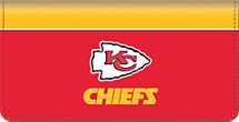 Kansas City Chiefs NFL Checkbook Cover