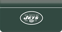 New York Jets NFL Checkbook Cover
