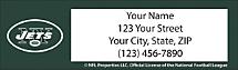 New York Jets NFL Return Address Label