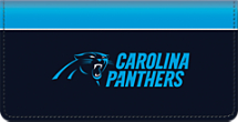 Carolina Panthers NFL Checkbook Cover