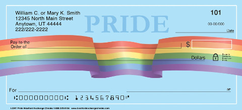 LGBT Pride Personal Checks