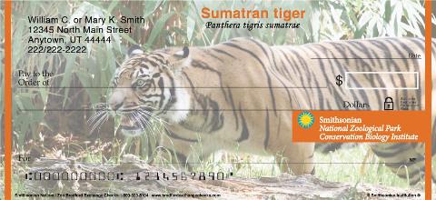 Smithsonian National Zoo Personal Checks