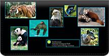 Smithsonian National Zoo Checkbook Cover