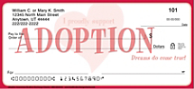 Adoption Awareness Personal Checks