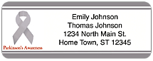 Parkinson's Awareness Return Address Label
