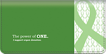 Organ Donation Checkbook Cover
